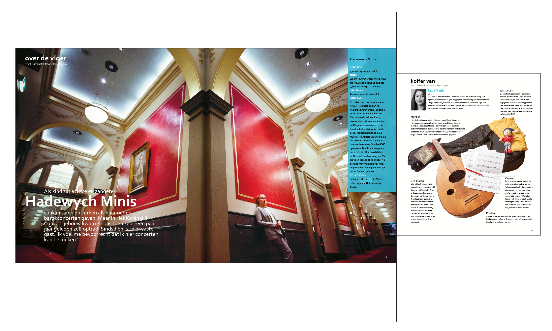 Concertgebouw magazine layout