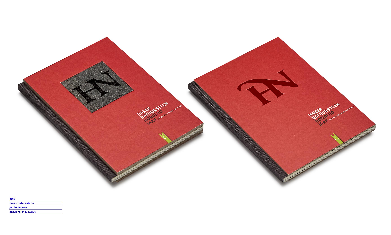 Haker natuursteen jubileumboek