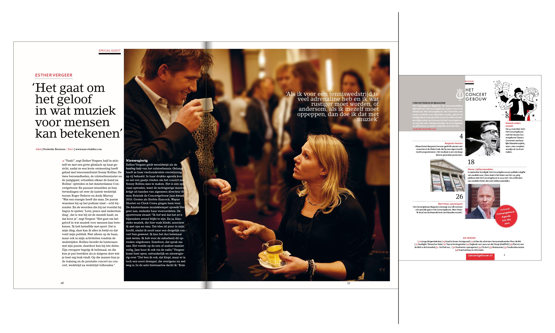 Concertgebouw magazine