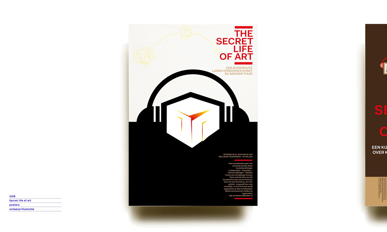 poster secret life of art project